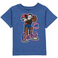 MLB Chicago CUBS TEE Short Sleeve Boys 50% Cotton 50% Poly Team Color 12M-4T