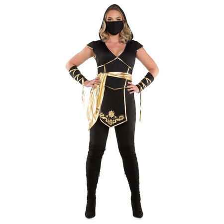 Ninja Assassin Adult Costume - Plus Size 2X