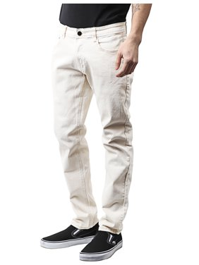 Ma Croix Mens Skinny Jeans Stretch Skinny Fit Slim Denim Pants