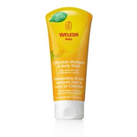 Calendula Shampoo & Body Wash Weleda 6.8 oz Liquid