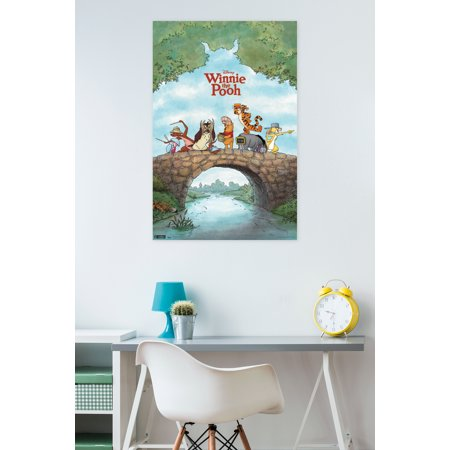 - Trends International Winnie The Pooh Movie One Sheet Wall Poster 22.375