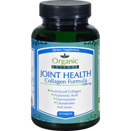 Organic Science Joint Health   Collagen Formula   30 Tablets