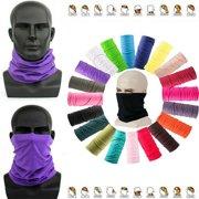 2020 New 1PCS Multi-use Tube Scarf Bandana Head Neck Gaiter HeadwearWhite)