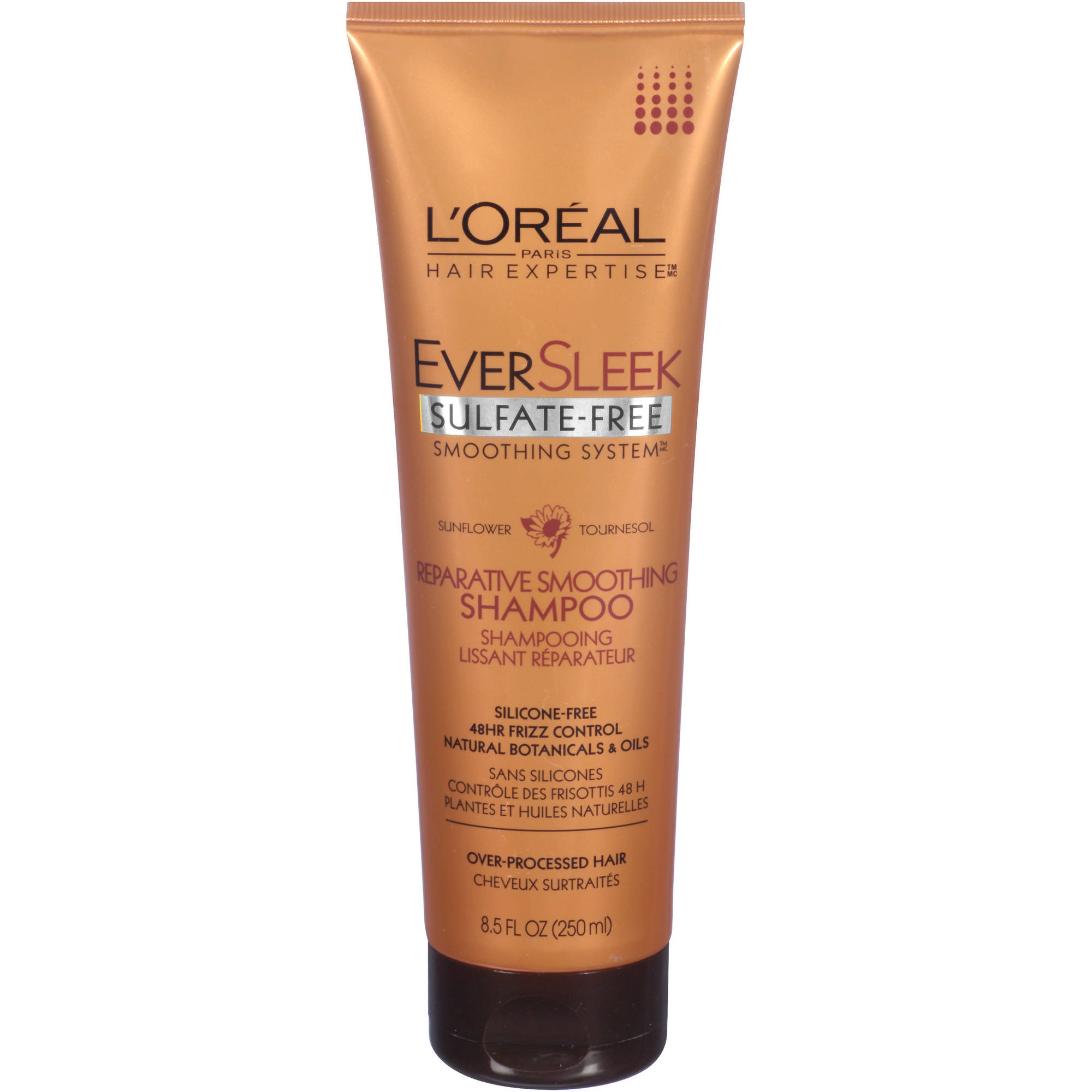 L'Oréal Paris EverSleek Reparative Smoothing Shampoo, 8.5 Oz