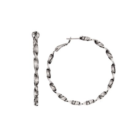 High Polished 14 Karat Gold Plated Linear Diamond Cut 3 hoop dangle Earring Diamond Cut Three Circle Earring