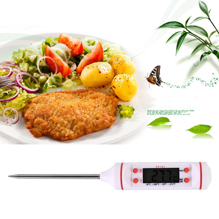 Needle Electronic Food Barbecue Measure Milk Temperature Thermometers