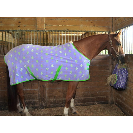Rambo Newmarket Fleece Cooler - Jeffers Prickly Cactus Expression Fleece Cooler