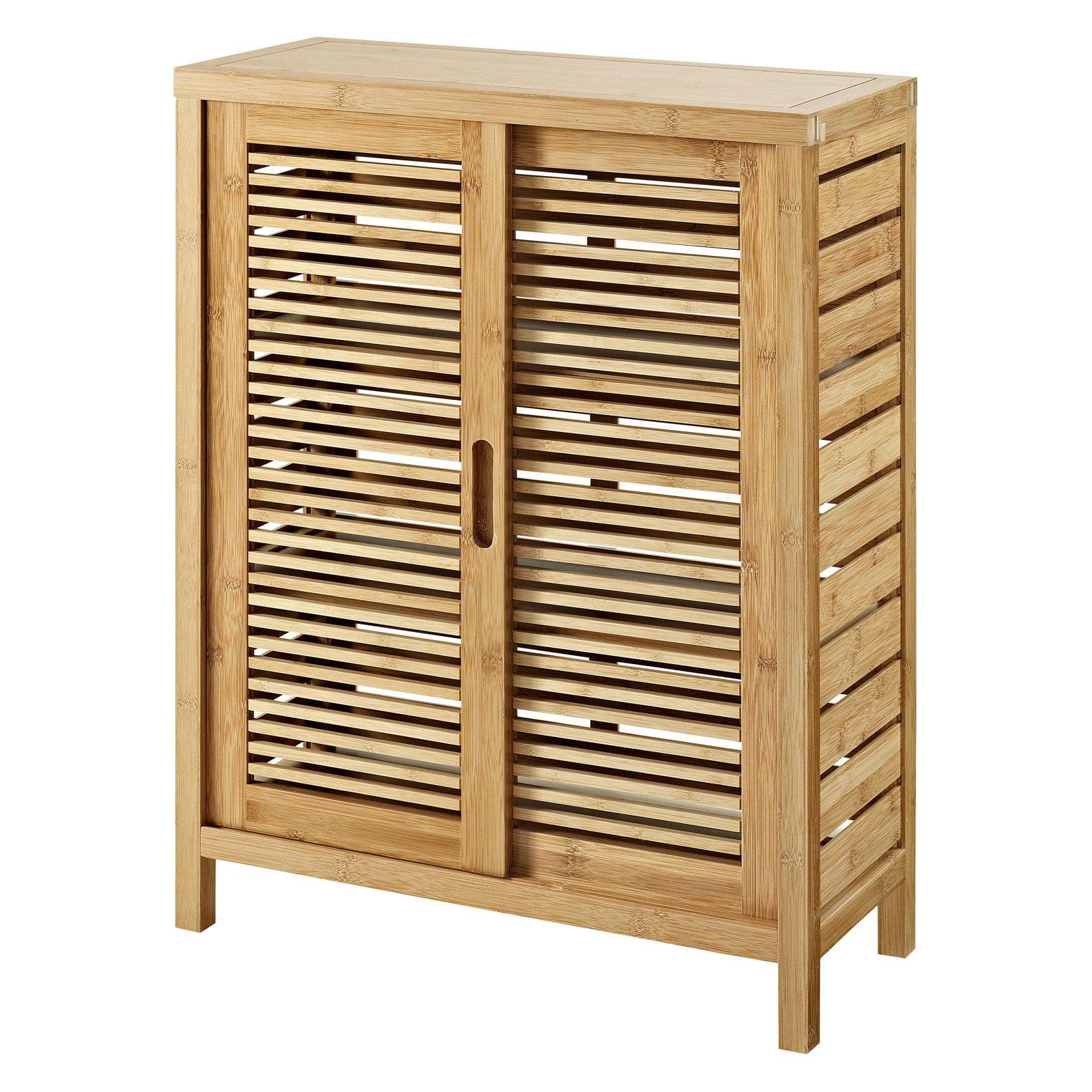 Bracken Two Door Floor Cabinet - Walmart.com