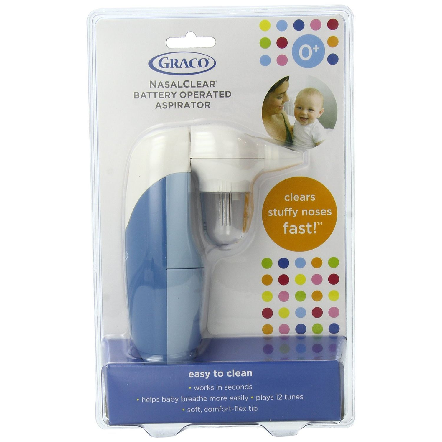 Graco BebeSounds Nasal Clear Aspirator