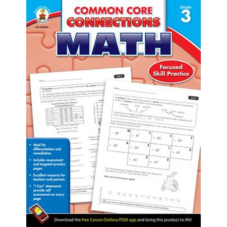 Common Core Kindergarten (Common Core Connections Math, Grade)
