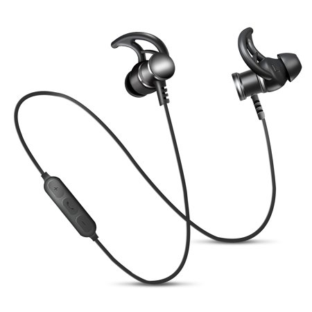 TSV Bluetooth Headphones Wireless Earbuds 4.1 Magnetic Bluetooth Earphones A2DP Hands-Free Noise Cancellation With Mic for Sports