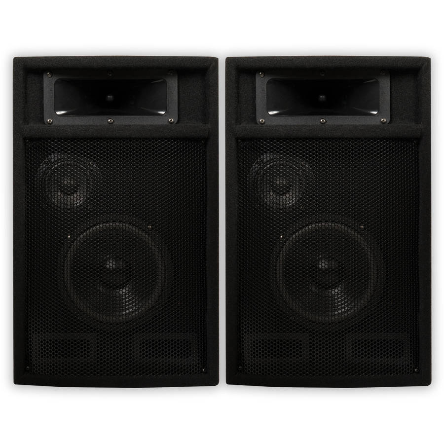 Acoustic Audio PA-365X Passive 1000 Watt 3-Way Speaker Pair DJ PA Karaoke Studio Speakers by Acoustic Audio