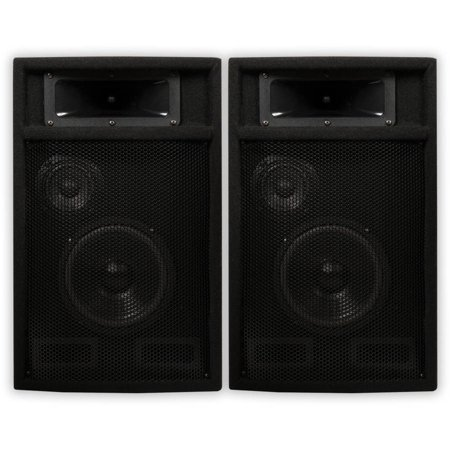 Acoustic Audio PA-365X Passive 1000 Watt 3-Way Speaker Pair DJ PA Karaoke Studio Speakers (Yamaha Studio Speakers)