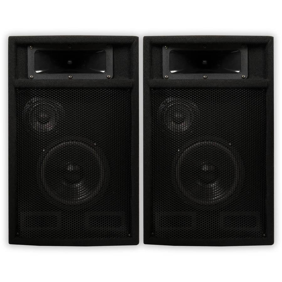 Acoustic Audio PA-365X Passive 1000 Watt 3-Way Speaker Pair DJ PA Karaoke Studio Speakers
