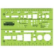 Rapidesign 327R Lighting Fixtures Template