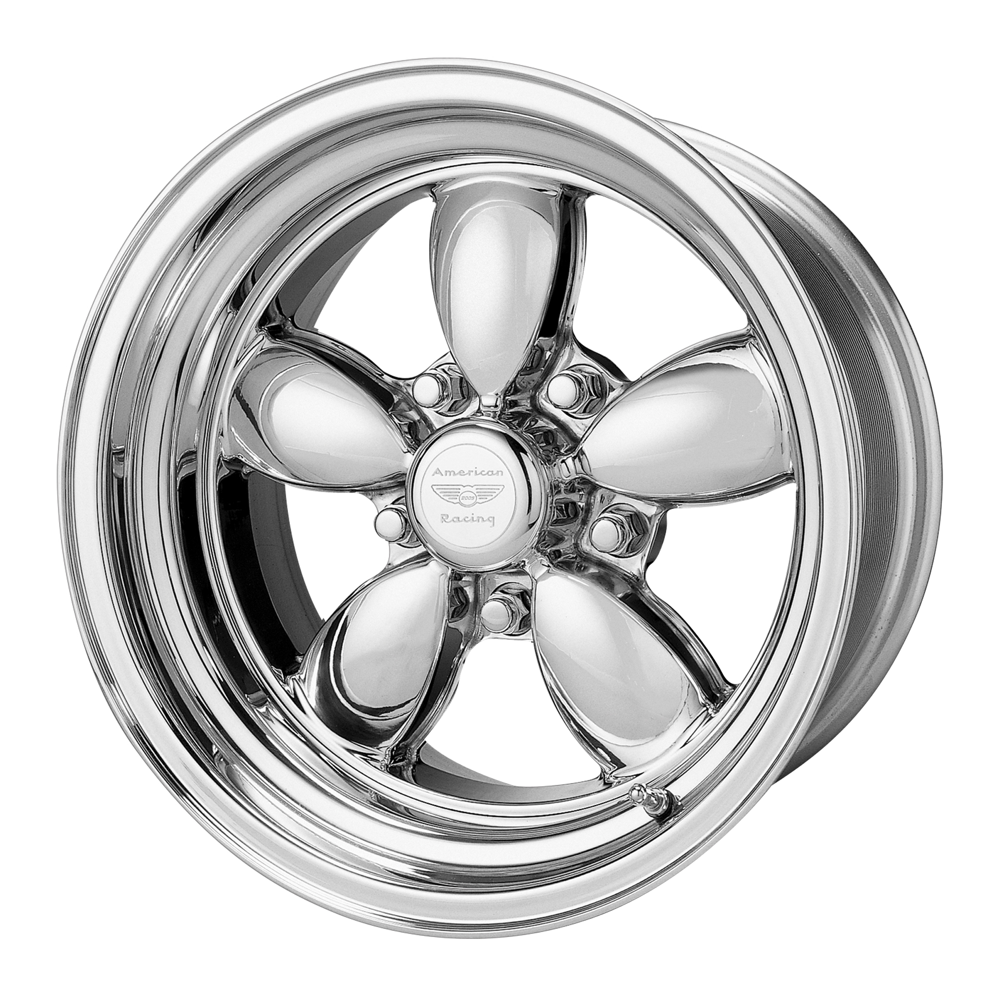 American Racing Classic 200s Two Piece Polished 15x8 5x114 30 0mm