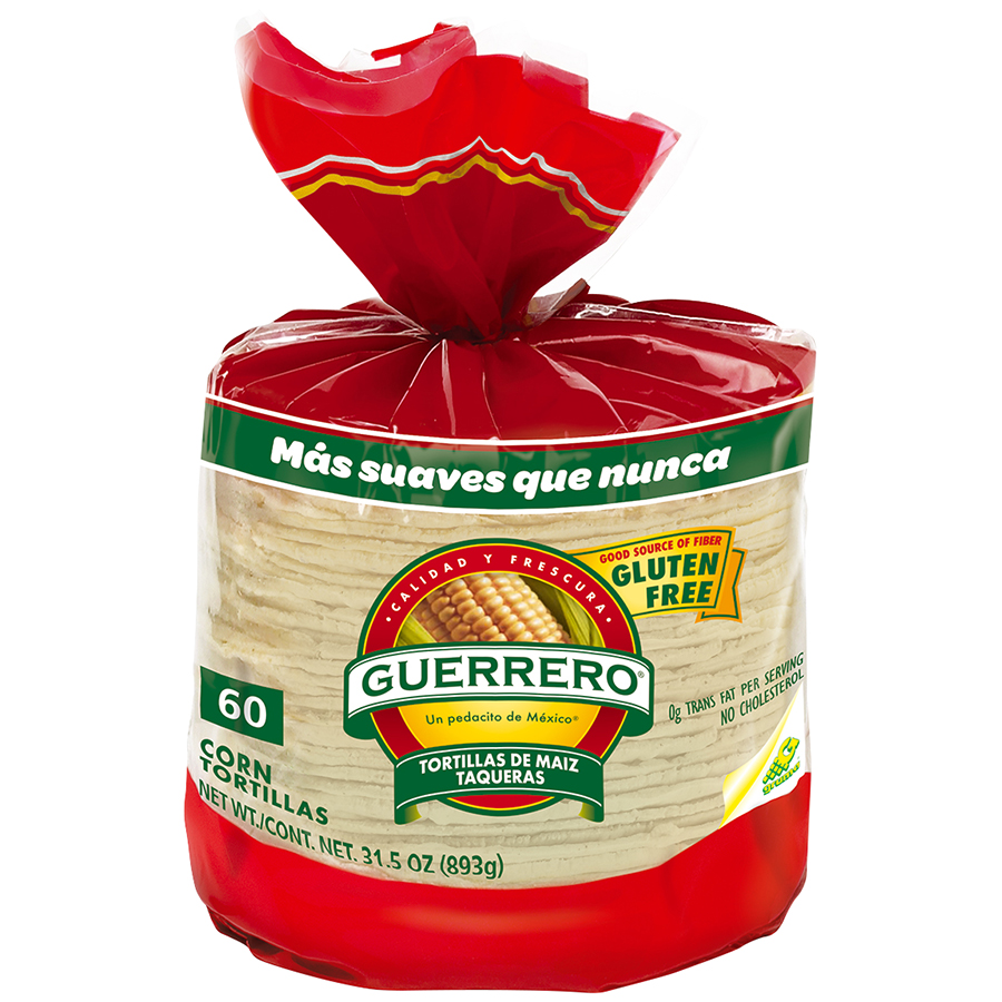Guerrero® Corn Tortillas 60 ct Bag