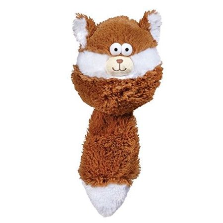 Funny Dog Toys Furry Fatties Crinkle & Squeak Textured Toys Choose Character 15