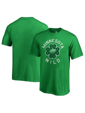 Minnesota Wild Fanatics Branded Youth St. Patrick's Day Luck Tradition T-Shirt - Kelly Green