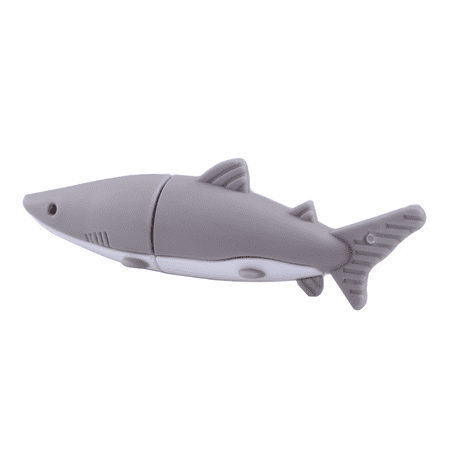 HDE 16GB USB 3.0 Novelty Flash Drive Great White Shark Design High Capacity Thumb (Best 16gb Usb 3.0 Flash Drive)