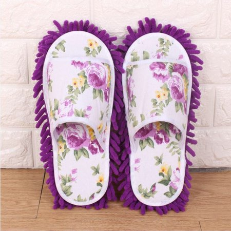 dust mop slippers microfiber house slippers bedroom shoes for women