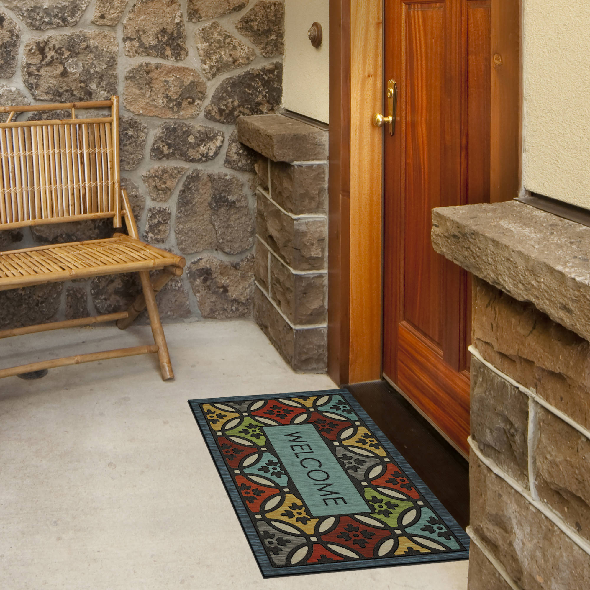 Mohawk Home Clementine Shades Welcome Doormat