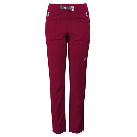 71cfa37b646 Material Girl by Medgear - Women's MG SuperFlex Athletic Fit Stretch Slim  Leg Scrub Pant with Zipper Pocket Detail - Walmart.com