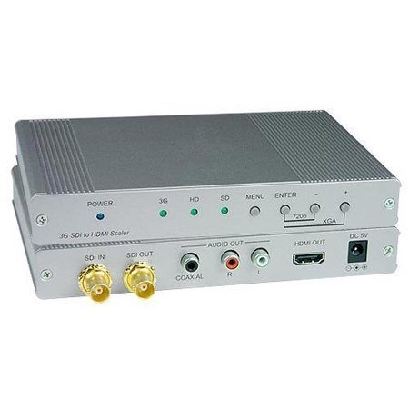 - NTI 3GSDI-HDA 3G-SDI to HDMI with Audio Converter Scaler w/2-Yr Warranty