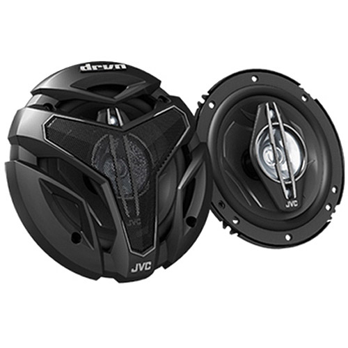 "JVC CSZX640 6.5"" 4-Way Coaxial Speakers with 350W Max Power Handling (Pair of Speakers)"