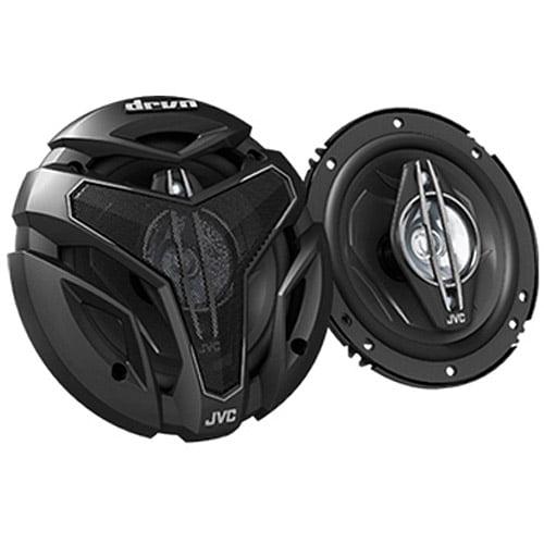 """JVC CSZX640 6.5"""" 4-Way Coaxial Speakers with 350W Max Power Handling (Pair of Speakers)"""