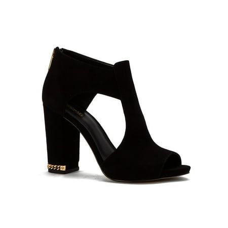 661c90d5b321 MICHAEL Michael Kors - MICHAEL Michael Kors Womens Sabrina Suede Peep Toe  Casual Mule Sandals - Walmart.com