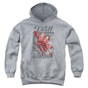 Flash Gordon To The Rescue Big Boys Pullover Hoodie