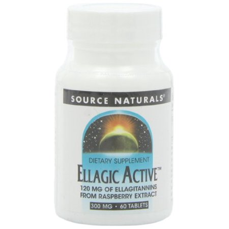 550 Mg 60 Tabs - Source Naturals Ellagic Active 300 mg 60 Tabs