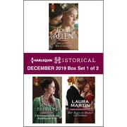 Harlequin Historical December 2019 - Box Set 1 of 2 - eBook