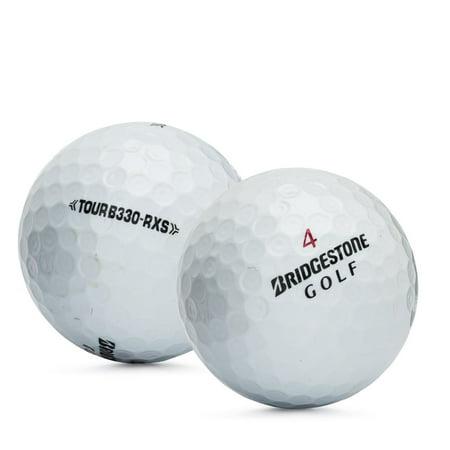 B330 Mint - Bridgestone Golf Tour B330-RXS Golf Balls, Used, Mint Quality, 12 Pack