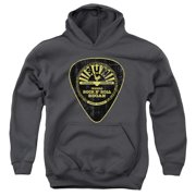 Sun Records Guitar Pick Big Boys Pullover Hoodie