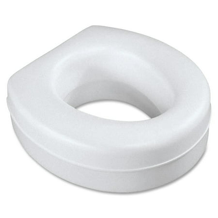 Contoured Plastic Raised Toilet - Adjustable Raised Toilet Seat