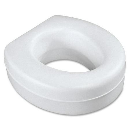 Contoured Plastic Raised Toilet