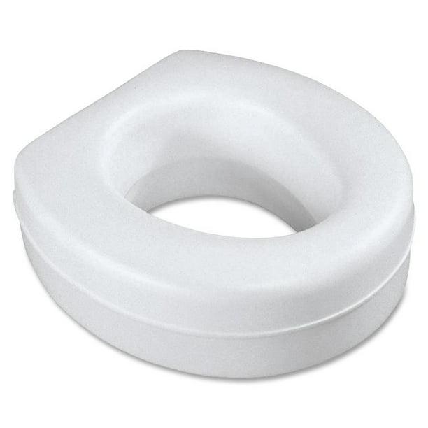 Medline Raised Toilet Seat, Contoured, Plastic   Walmart.
