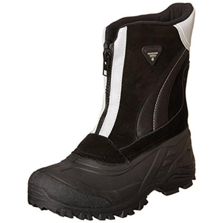 totes - Totes Mens Jorge Leather Waterproof Winter Boots