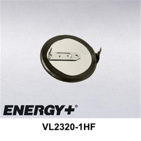 fedco batteries compatible with panasonic vl2320-1hf rechargeable lithium coin cell for industrial & backup applications