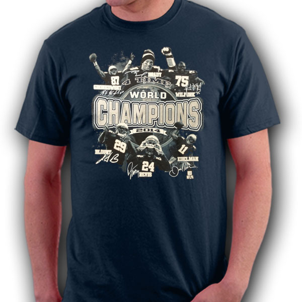 New England 2014 Champions T-Shirt - Large