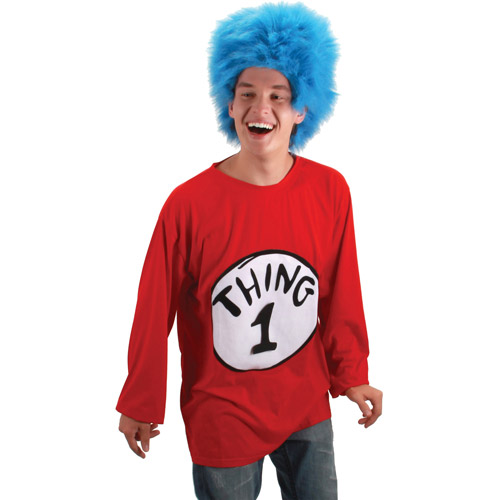 Dr. Seuss Thing 1 Adult Halloween Costume