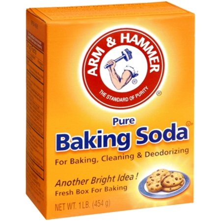 how to get glass out of foot with baking soda