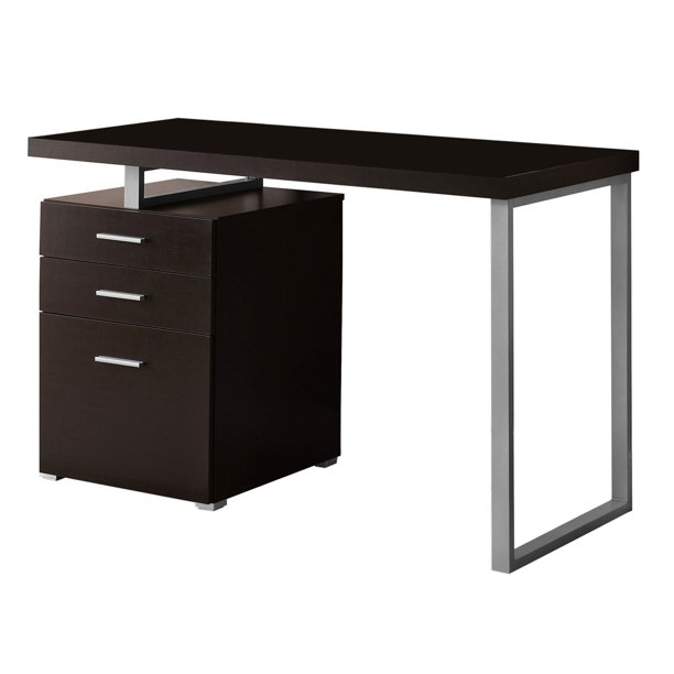 "Monarch Computer Desk 48""L Cappuccino Left Or Right Facing"