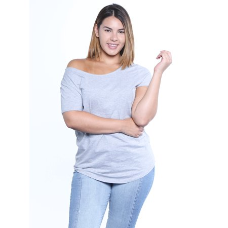 1d6050bf8508b Awkward Styles Plus Size Shirt Off The Shoulder Women s Plus Size Shirts  Sexy Plus Size T