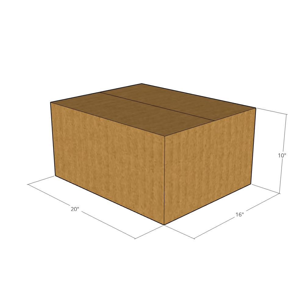 20X16X10 Cardboard Packing Mailing Shipping Corrugated Box Cartons Moving