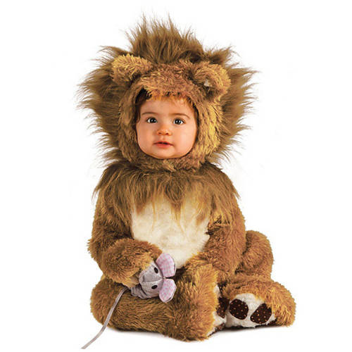 Lion Infant Jumpsuit Halloween Costume