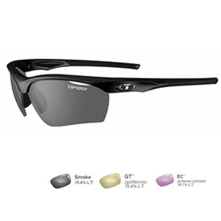 Tifosi Vero Gloss Black Sunglasses - (Tifosi Pave Fototec Sunglasses)