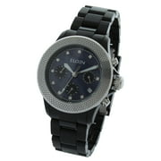 Elgin Ladies Watch EG7040B-L61 Silver Metal Bezel 40MM Chronograph